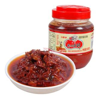 巧酿坊 红油郫县豆瓣 500g