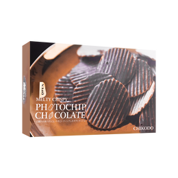 知光堂 黑巧克力薯片 120g