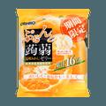 日本ORIHIRO 低卡高纤蒟蒻果冻 限定橘子味 6枚入 120g