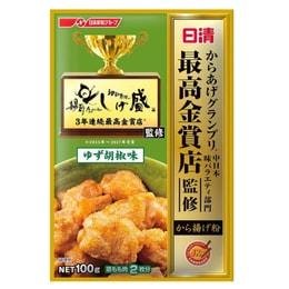 JAPAN NISSEN Fried Chicken Powder Yuzu pepper 100g