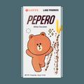 韩国LOTTE乐天 PEPERO 白巧克力脆棒 32g 包装随机发