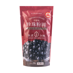 Tapioca Pearl Black Sugar Flavor 250g