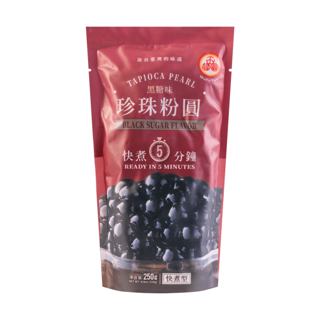 Product Detail - Tapioca Pearl Black Sugar Flavor 250g - image  0