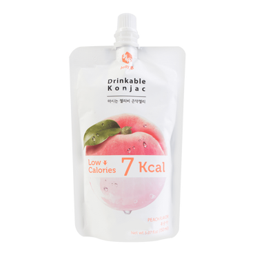 Konjac Drink Peach Flavor Low Calories Drink 150ml