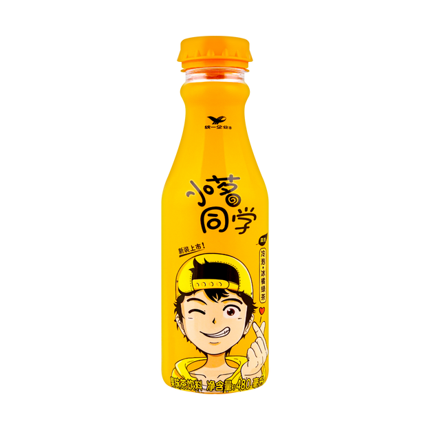 Product Detail - UNIF Xiao Ming Orange Green Tea Drink 480ml - image 0