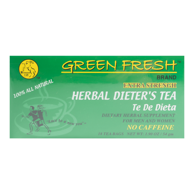 Product Detail - WINNERAM GREEN FRESH Extra Strength Herbal Dieter\'s Tea 54g - image 0