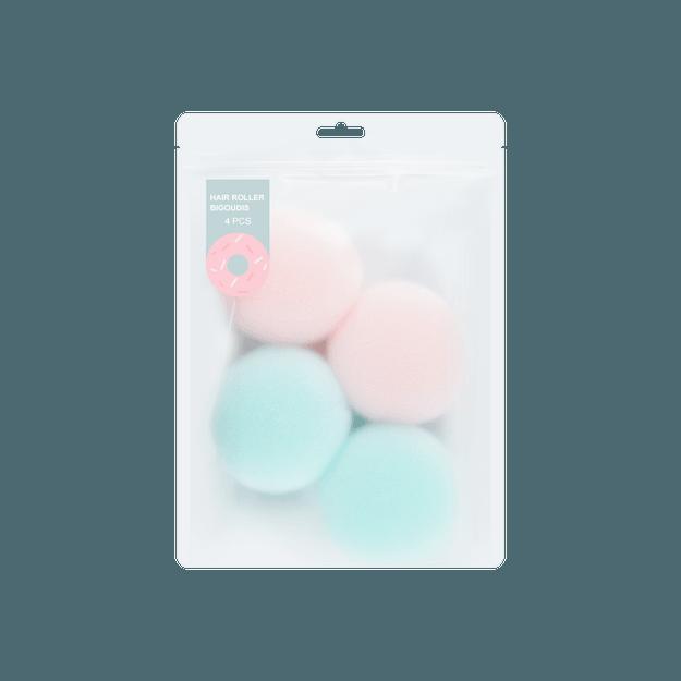 商品详情 - 名创优品Miniso 糖果时光 海绵卷发球 4个装 - image  0
