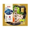 【日本直邮】 日本明星食品  大炮拉面监制 久留米猪骨锅拉面汤底带速食面 1包装