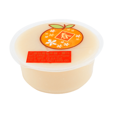 Rice Cake Coconut Flavor 500g