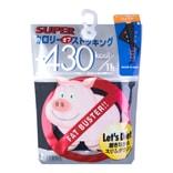 日本TRAIN 小猪收腹提臀瘦腿连裤袜 70D #黑色 M-L 单件入