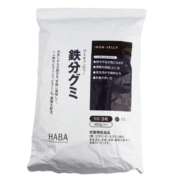 Product Detail - HABA IRON JELLY 450g - image 0