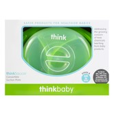 THINKBABY Think Saucer Suction Plate 6 Months Older #Green