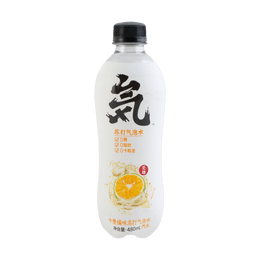 Genki Forest Kaman Orange Soda Water 480ml