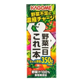 日本KAGOME野菜生活 蔬菜浓缩汁 200g