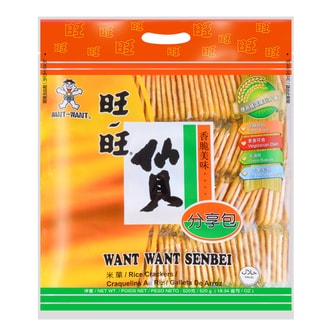 WANT WANT Senbei Rice Crackers 520g
