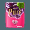 日本KANRO PURE果肉果汁咀嚼弹力软糖 葡萄味 56g 包装随机发