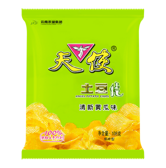 天使 土豆片 清新黄瓜味 108g