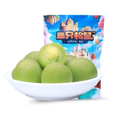 THREE SQUIRRELS-Crisp green plum 180g