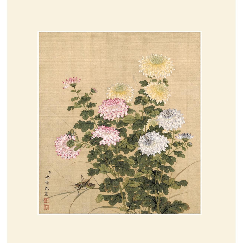 INKWASH Chinese Nature Flower Wall Art - Yamibuy.com