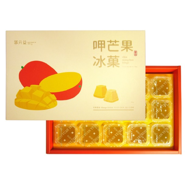 Product Detail - KUO YUAN YE Mango Sorbet 504g 14pcs - image 0