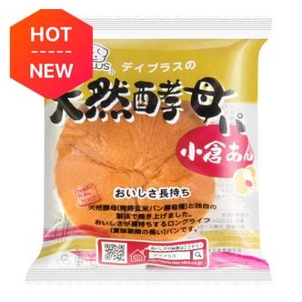 日本D-PLUS 天然酵母持久保鲜面包 小仓红豆味 80g
