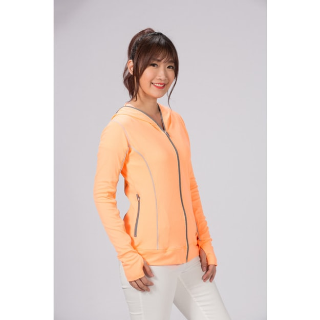 KATSUHOUSE VS U&C Non-toxic cool feeling coat Orange coloredXLsIze * sunscreen * whitening * MIT