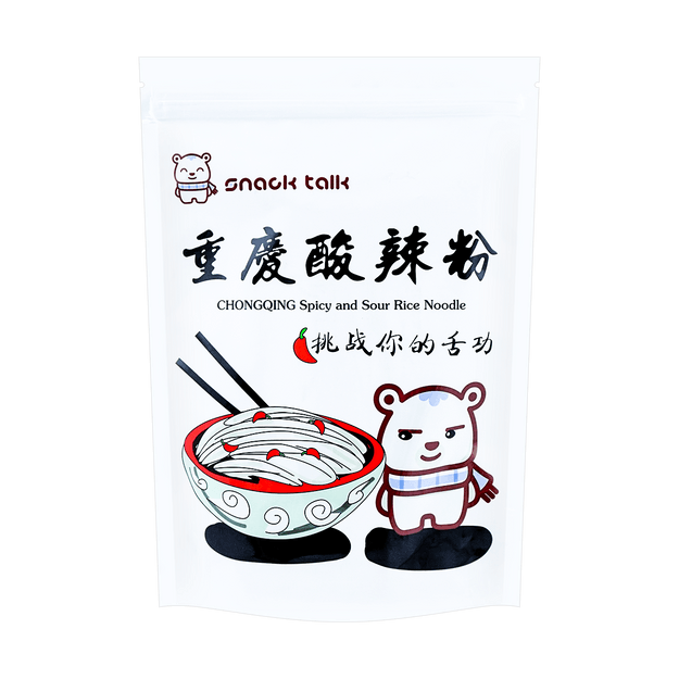Product Detail - SNACK TALK Chongqing Hot and Sour Rice Noodle 200g - image 0