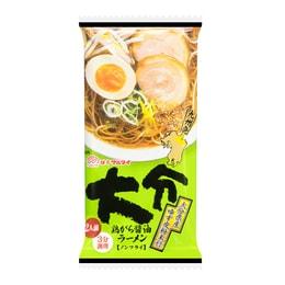 日本MARUTAI 大分鸡骨酱油浓汤拉面 2人份 214g