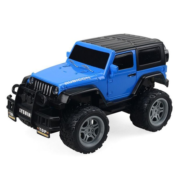 Product Detail - SANUO RC Car Can Be Charged 1:18 Off-road Vehicle for Children Car High Speed LED Light Vehicles Gift Toy BLUE YYC 1 pc - image 0