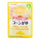 日本KEWPIE丘比 宝宝辅食 低敏感甜香玉米袋装粥 80g 5M+