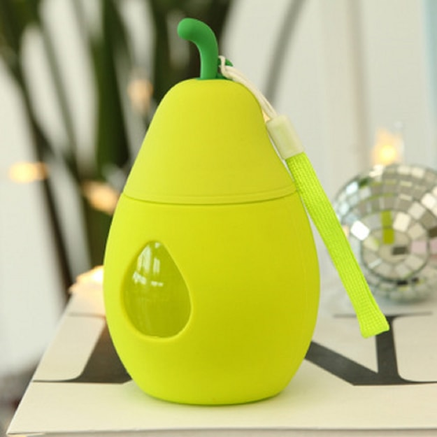 Product Detail - CAITONGCHANG Yali portable cute cup rope outdoor new fashion glass cup hand cup Lemon yellow - image 0