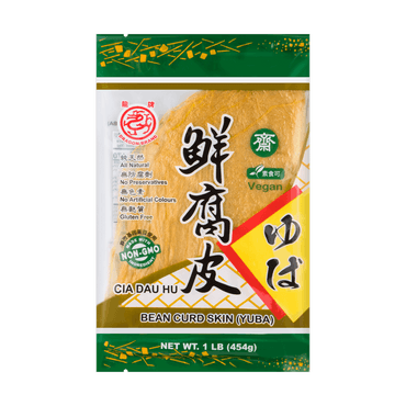 【Clearance】DRAGON Bean Curd Skin (Yuba) 454g