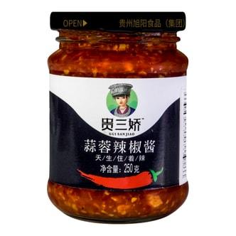 贵三娇 蒜蓉辣椒酱  250g