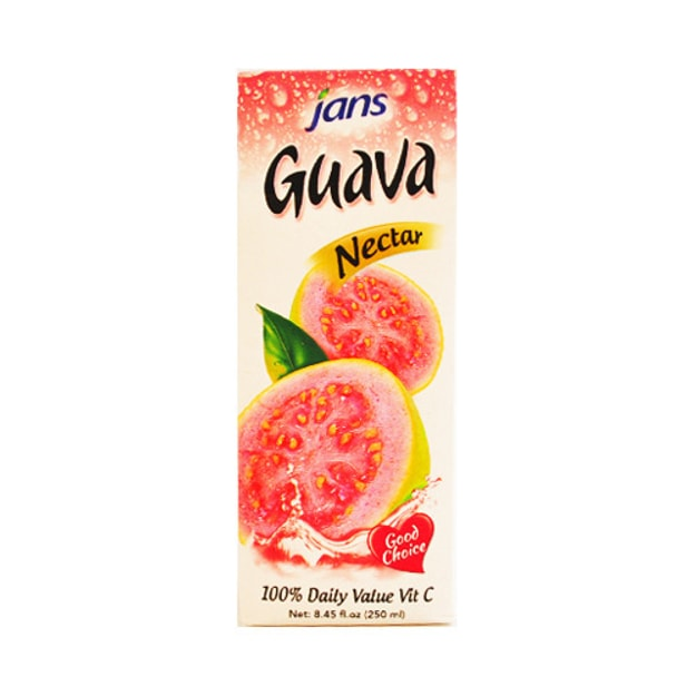 JANS Guava Nectar 100% Daily Value Vit C 250ml