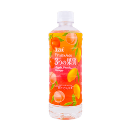 【EXP 12/1/2020】FRUITS ADE Apple Peach Mango Soft Drink