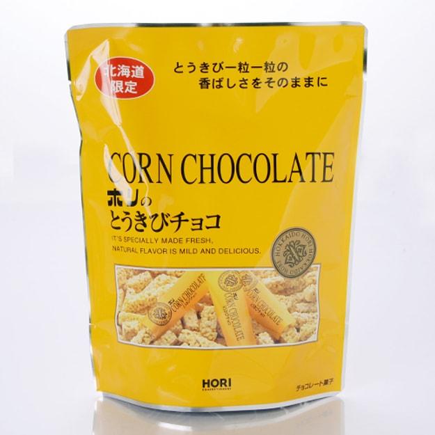 商品详情 - 【日本直邮】北海道夕张名物  北海道限定 HORI玉米巧克力棒 10枚装 黄色 - image  0