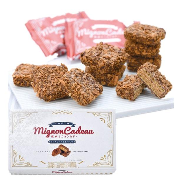 商品详情 - 【日本直邮】日本TOKYO MIGNON CADEAU 巧克力脆皮千层威化 6枚装 - image  0