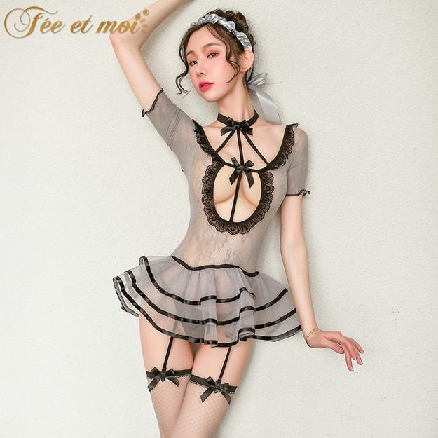 Product Detail - FEE ET MOI Ballet gauze skirt net dress sexy uniform temptation - image 0