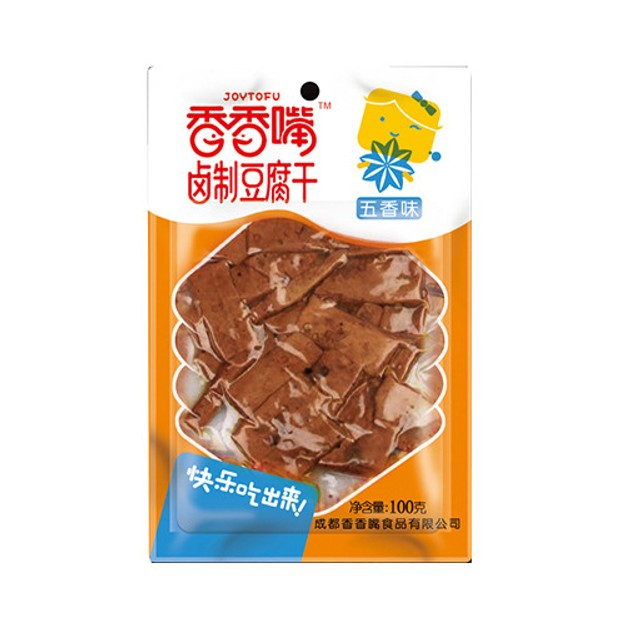 Product Detail - JOYTOFU Dried Bean Curd Five Flavor 100g - image 0