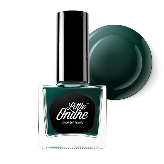 Product Detail - Little Ondine Water-based Peel off Non Toxic Natural Nail Polish(L711-Emerald) - image 0