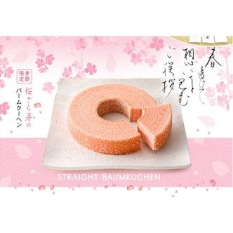 Tokyo Ginza NENRINYA Spring Sakura Straight Cake 1 pc