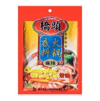 QIAOTOU Spicy Hotpot Soup Base 300g