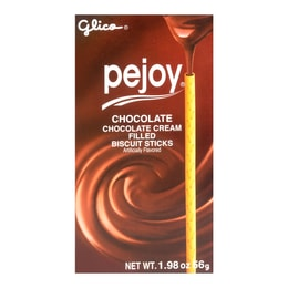 GLICO Pejoy Chocolate Cream Filled Biscuit Sticks 56g