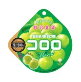 UHA Kororo Gummy Candy Juice Candy Green Grapes 48g