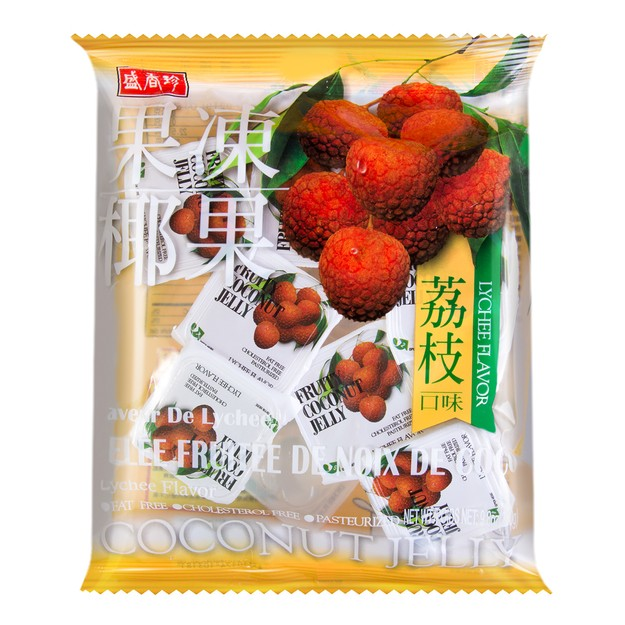 Product Detail - SCHENG Lychee Coconut Jelly 280g - image 0