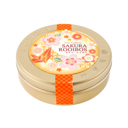 【樱花季限定】日本LUPICIA绿碧茶园2021年新春樱花限定 无咖啡因樱花树莓桃子茶 50g