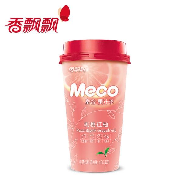 Product Detail - MECO Peach Yuzu Fruit Tea 400ml - image 0