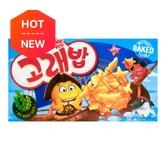 韩国ORION好丽友 好多鱼松脆小饼干 鲜香海苔味 40g
