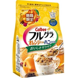 CALBEE Fruit Wheat Cereal Orange Limited 700g