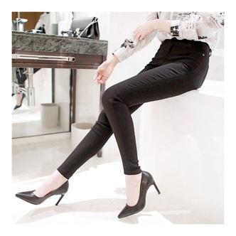 韩国正品 MAGZERO 超强弹力紧身牛仔裤 #黑色 M(25-26) [免费配送]
